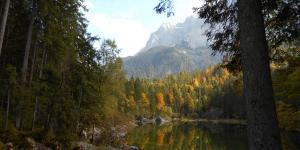 - Németország- Eibsee ősszel még szebb...